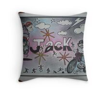 Jack personalised picture Throw Pillow