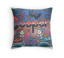 Cooper Personalised picture Throw Pillow