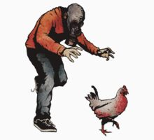 LEROY VS THE EVIL ZOMBIE CHICKEN! Kids Tee