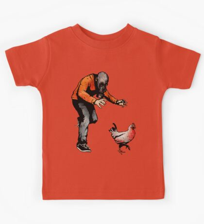 LEROY VS THE EVIL ZOMBIE CHICKEN! Kids Clothes