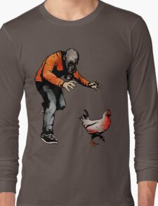 LEROY VS THE EVIL ZOMBIE CHICKEN! Long Sleeve T-Shirt