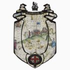 fosse manor hotel cotswolds UK (map and seal) by dragon2020