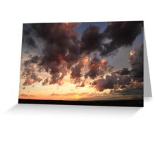 Picturesque sky Greeting Card