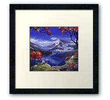 Chrono Trigger: Mountains're Nice Framed Print