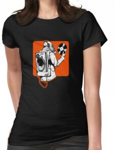 Spin Womens Fitted T-Shirt