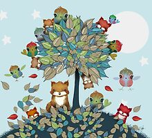 The Friendship Tree by © Karin Taylor