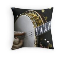 Resist tapping those toes, if you can! Throw Pillow