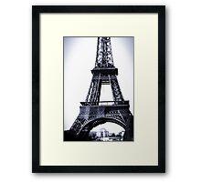 Base of Eiffel Tower Framed Print
