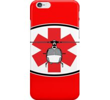 Eurocopter AS350 Medevac (front) iPhone Case/Skin