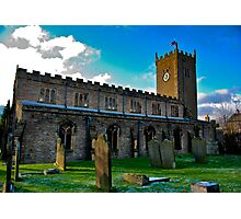 St Oswald's Church - Asgrigg Photographic Print