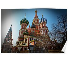 St. Basil's, Moscow, Russia Poster