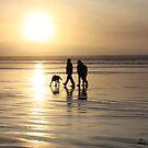 Beach Family by Anna Leworthy