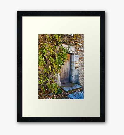 Who Live's Here Framed Print