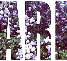Paris Floral by axialdesigns