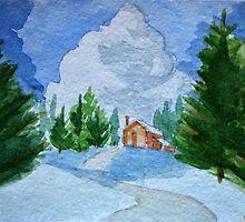 Christmas post-card #6 by Kostas Koutsoukanidis