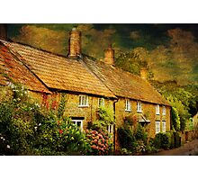 Cottages at Barrington Photographic Print