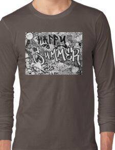 Happy Summer 2015 Long Sleeve T-Shirt