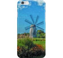 Boyd's Wind Grist Mill in Middletown, Rhode Island iPhone Case/Skin