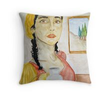 Mary Magdalen Throw Pillow