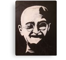 Ghandi Shining Canvas Print