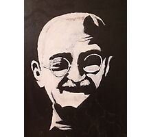 Ghandi Shining Photographic Print