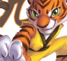 Kong Fu Tiger Sticker