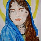 Blessed Virgin Mary by TriciaDanby