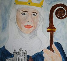 Saint Hilda by TriciaDanby