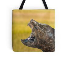 Alligator Snapping Turtle Tote Bag