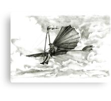 Homage to men with wings. Canvas Print