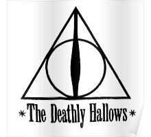 Deathly Hallows Harry Potter Poster