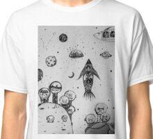 Interstellar hunting Classic T-Shirt