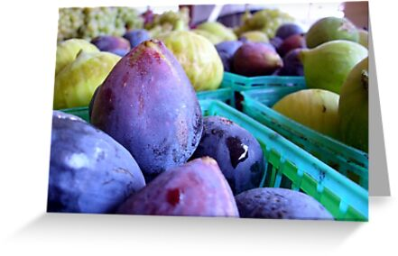 Fresh Figs by Kimberly Morales