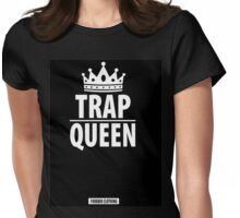 FUKKBOI CLOTHING | TRAP QUEEN Womens Fitted T-Shirt