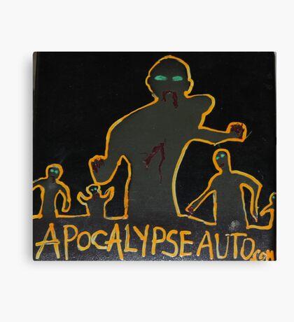 zzzzzzombies! apocalypse auto Canvas Print