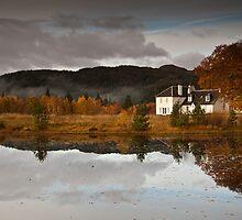 Nr. Plodda Falls, Highland, Scotland by Martin Slowey