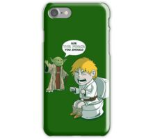 Sometimes the force is not enough. iPhone Case/Skin