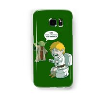 Sometimes the force is not enough. Samsung Galaxy Case/Skin