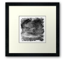 The Atlas of Dreams - Plate 1 (b&w) Framed Print