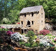 Springtime at the Old Mill by davidsimmons