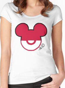 DisneyMon Women's Fitted Scoop T-Shirt