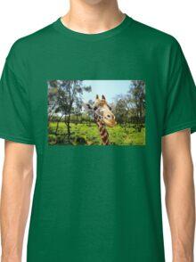 Giraffe portrait in Nairobi National Park - Kenya, Africa Classic T-Shirt