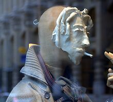 Paris - The Mask by Jean-Luc Rollier