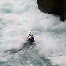 Kayaking down the Waikato River in New Zealand by MayJ