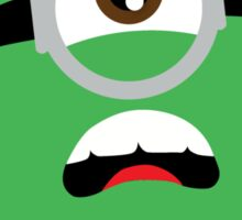 minion hulk Sticker