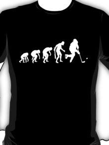 Evolution of a Hockey Player T-Shirt