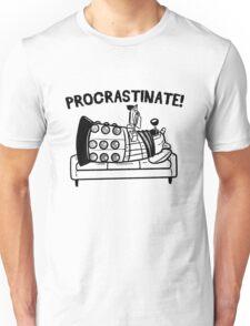 Procrastinate Robot Unisex T-Shirt