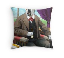 Sweet Pete - Fantasy oil painting Throw Pillow
