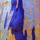 Azure Abstract by Marilyn Harris