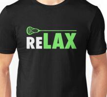 ReLAX Lacrosse Sticks Unisex T-Shirt